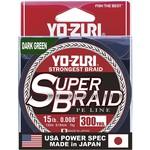 Yo-Zuri Yo-Zuri Super Braid Dark Green 300Yd