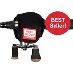 Rod Glove Reel Glove, Black, Casting, for Low Profile Reels