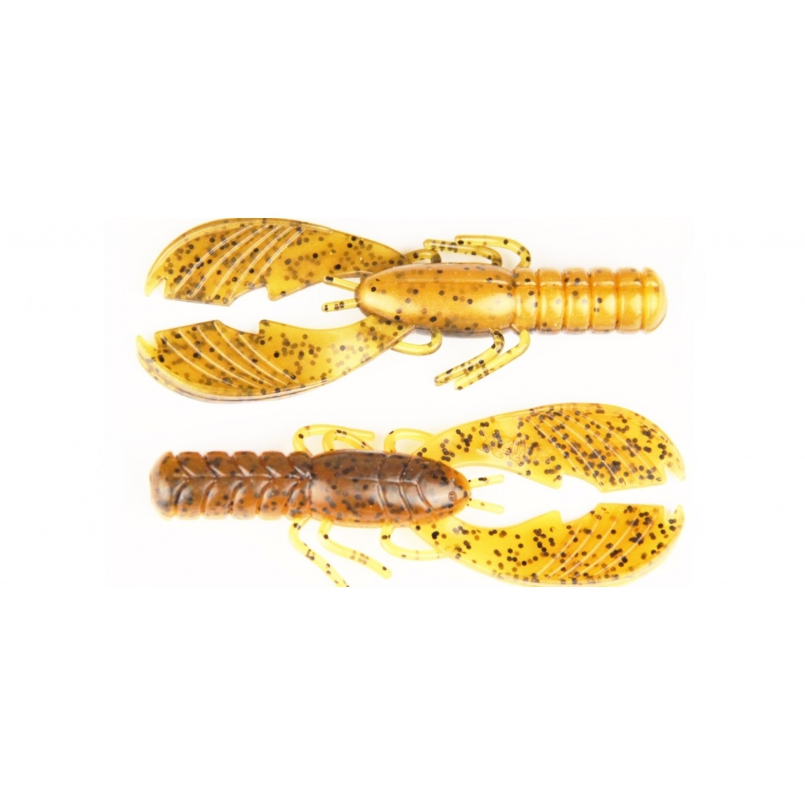 """X Zone Lures 4"""" Muscle Back Craw"""