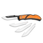 """Outdoor Edge 3.5"""" RAZOR-LITE (Orange, 6-Lames) – Clam"""