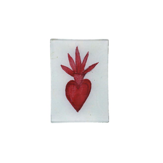Painted Heart Mini Tray