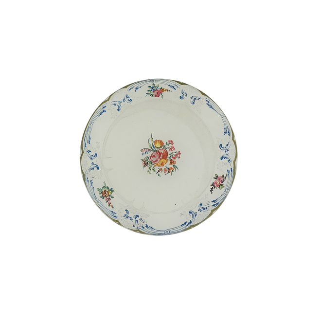 Rose Cluster Butter Plate