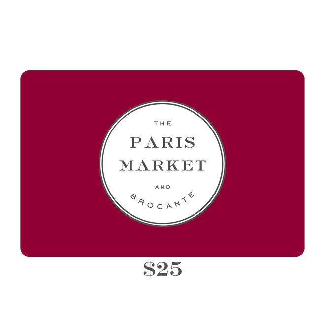 Paris Market Gift Card $25