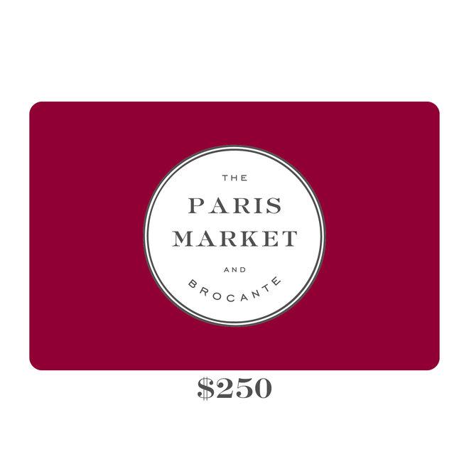 Paris Market Gift Card $250