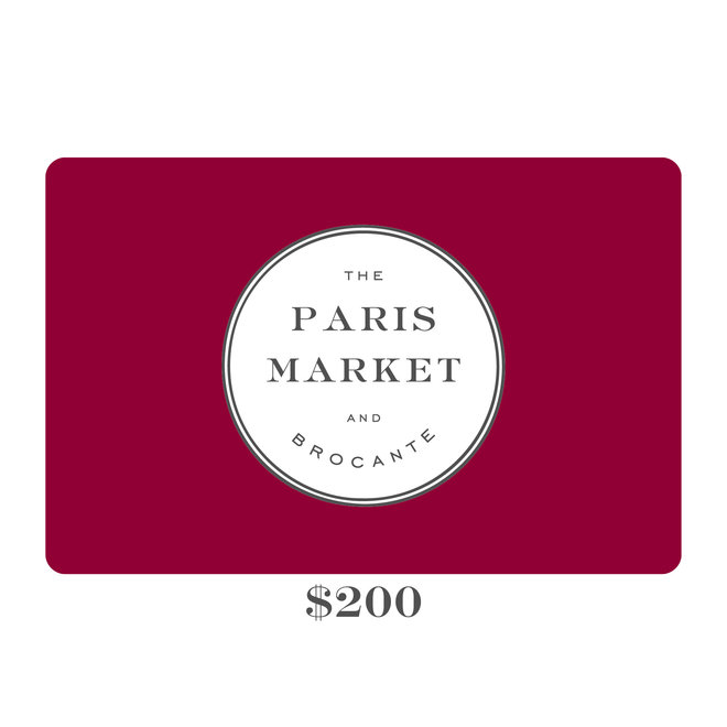 Paris Market Gift Card $200