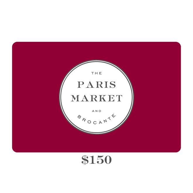 Paris Market Gift Card $150