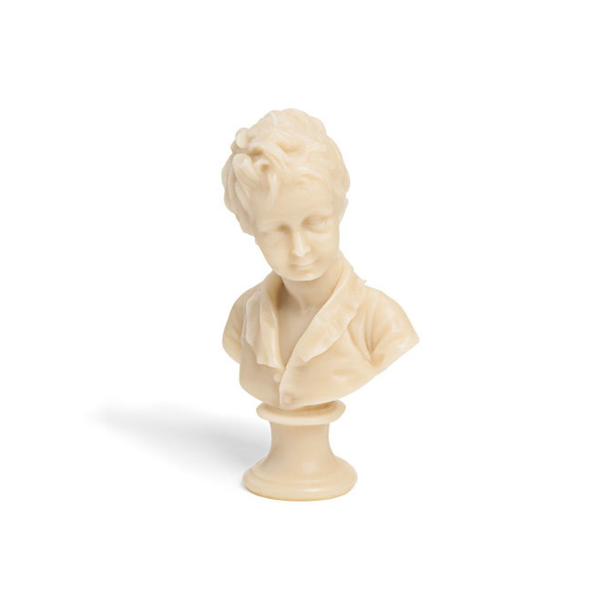 Alexandre Bust Candle, Stone