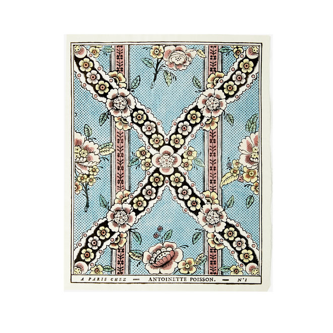 Guirlandes de Fleurs Domino Paper