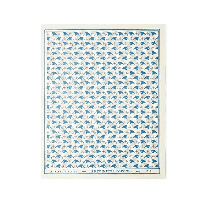 Fleurons Domino Paper