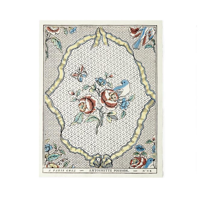 Rubans et Oiseaux Domino Paper