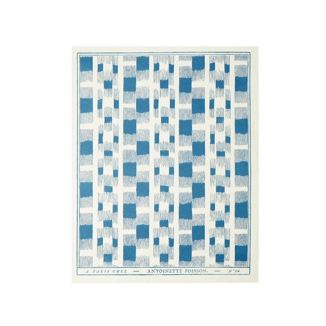 Ikat Domino Paper