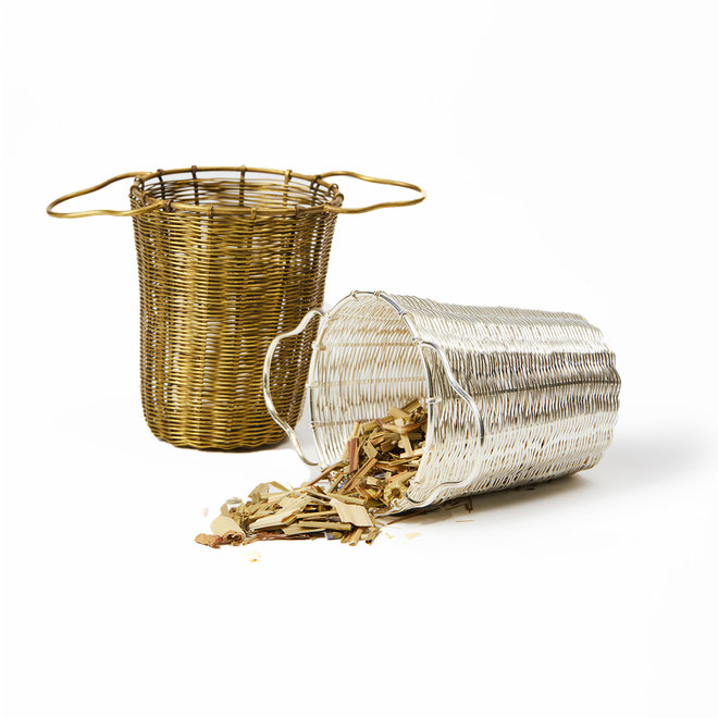 Woven Basket Tea Strainer