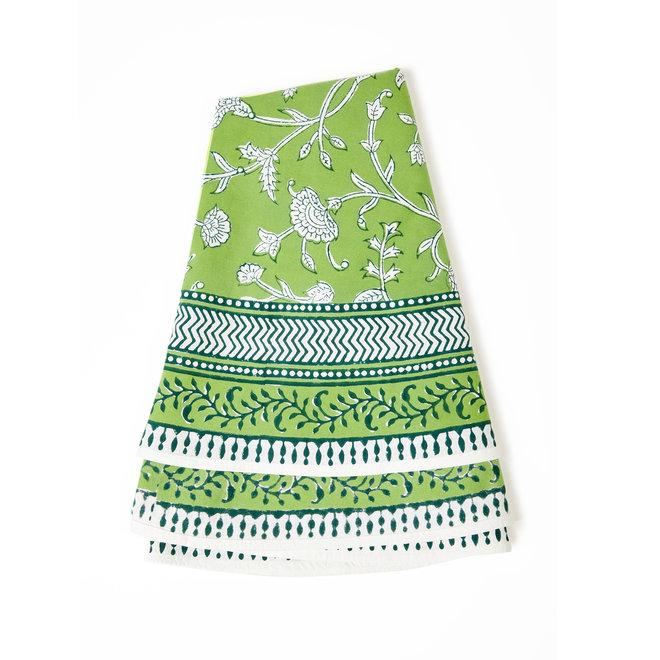 English Green Tablecloth