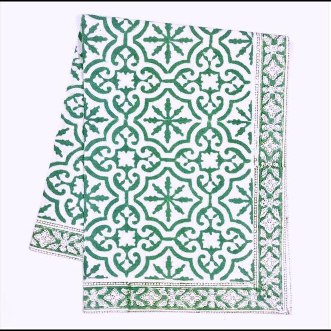 Easton Teal Tablecloth