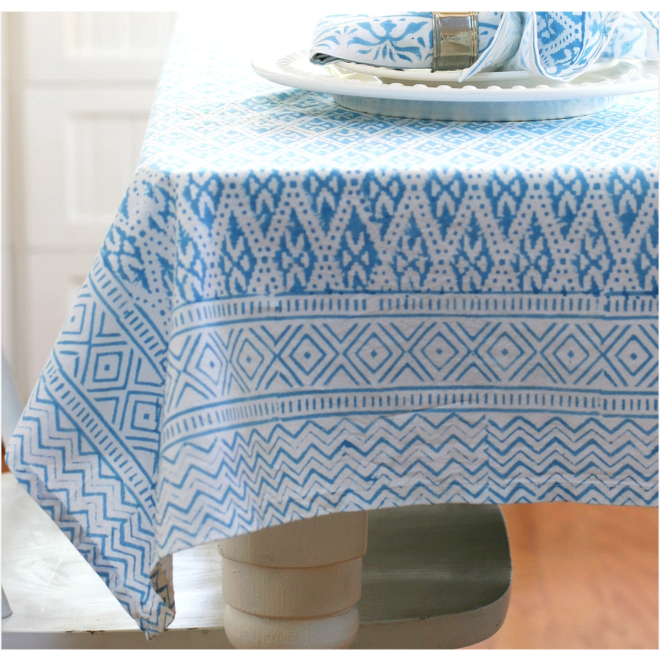 Ivy Blue Tablecloth