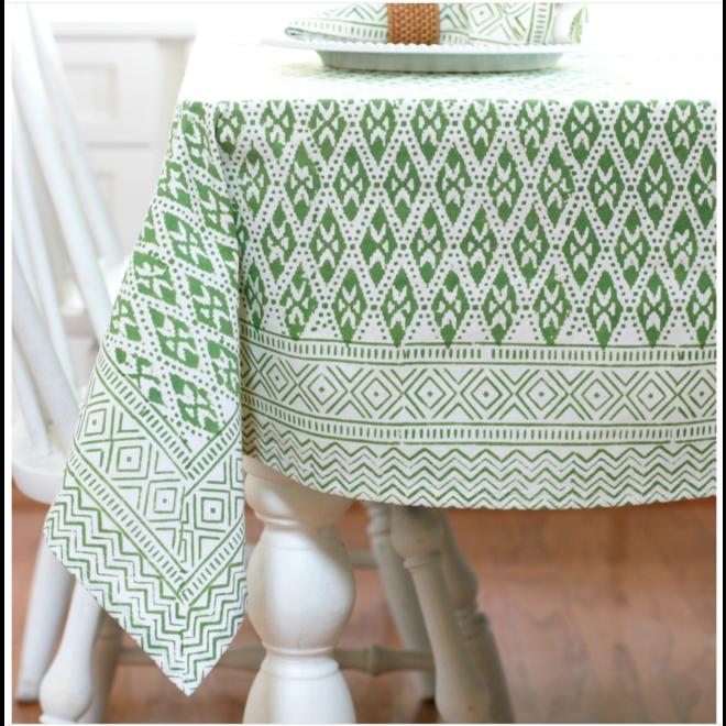 Ivy Green Tablecloth