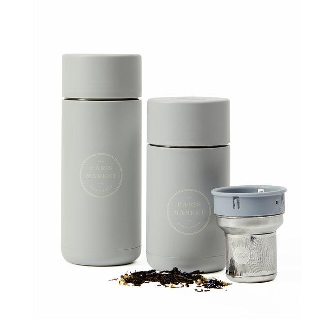 Paris Market Travel Mug & Tea Infuser