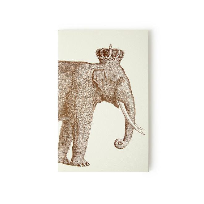 Royal Elephant Notebook