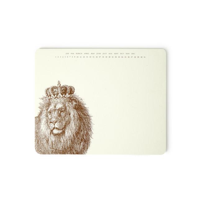 King Kitty Mousepad Notepad