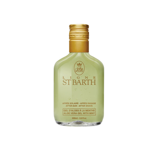 St Barth Aloe Vera Gel with Mint (After-sun/After-shave)