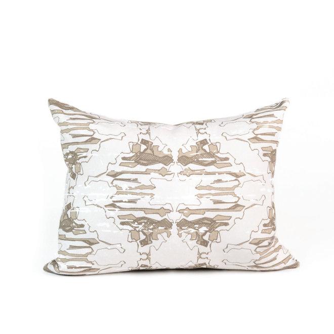 Lichen Petite Pillow in Mushroom