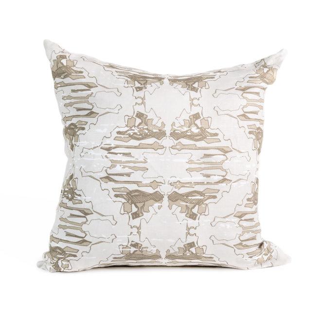 Lichen Pillow in Mushroom