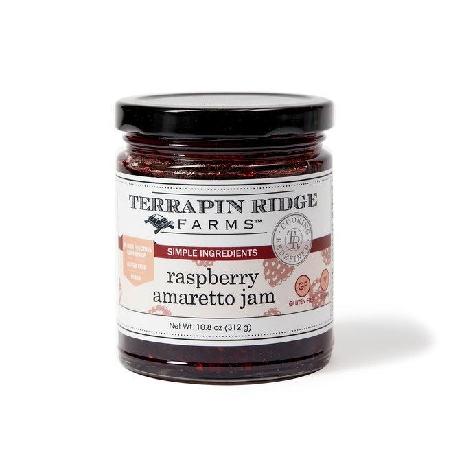 Raspberry Amaretto Jam