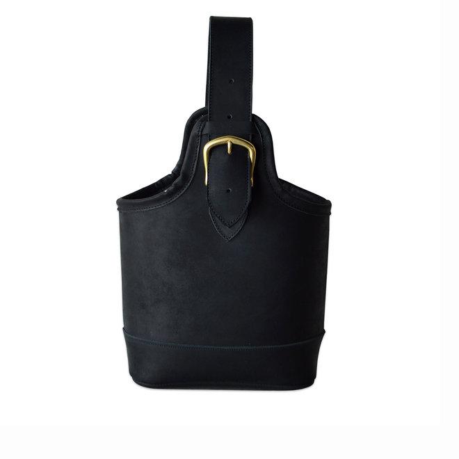 Petite Noir Leather Bag