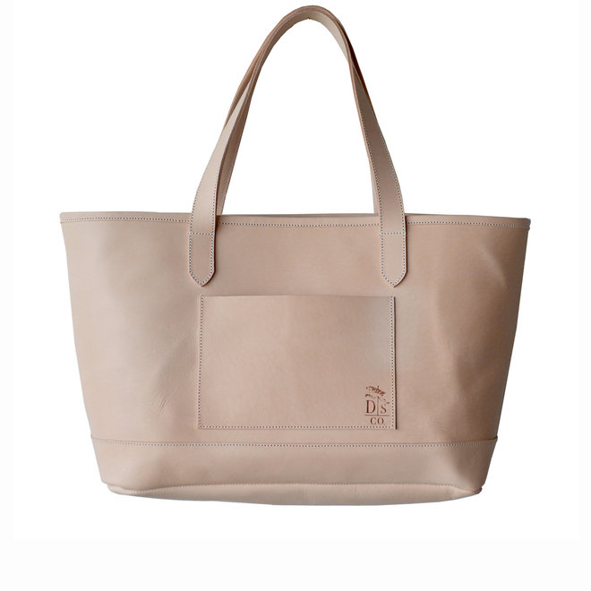 Dreamers Tote Natural Leather Bag