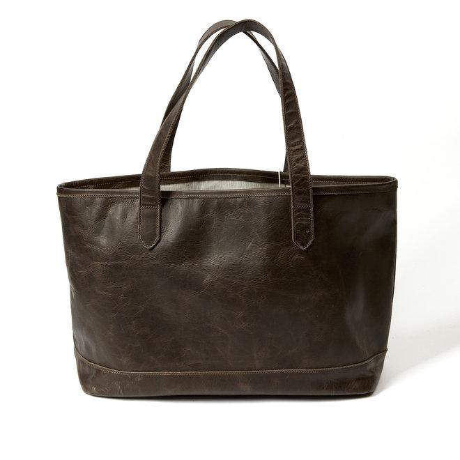 Dreamers Tote Espresso Leather Bag