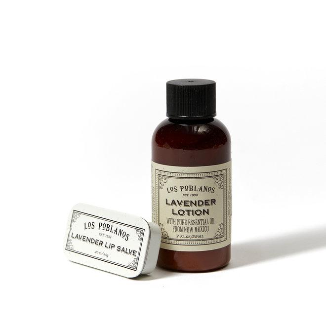 Lavender Lip Salve & Lotion Duo