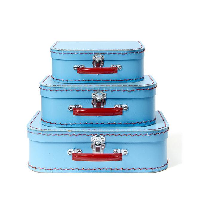 Blue Euro Suitcase