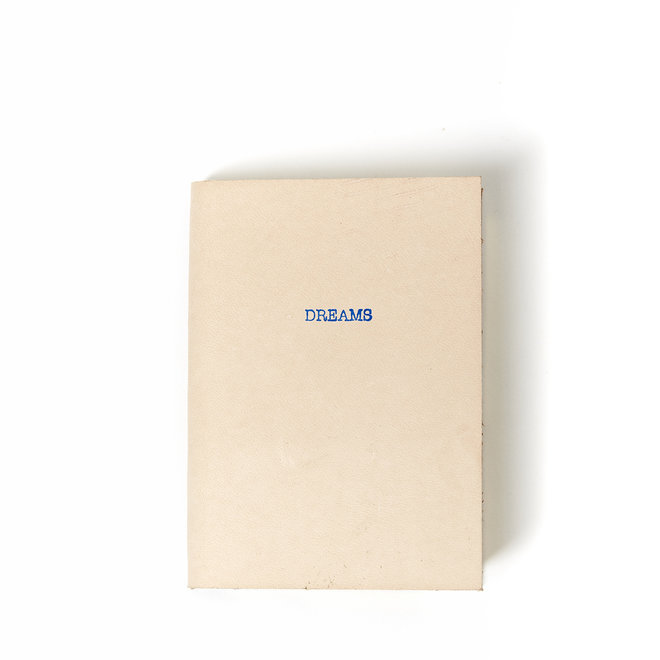 Dreams Mini Leather Natural Journal