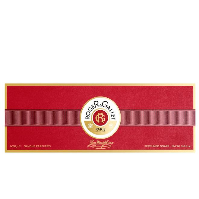 Jean Marie Farina Box Of 3 Soaps