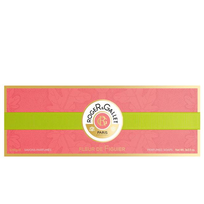 Fleurs De Figuier Box Of 3 Soaps