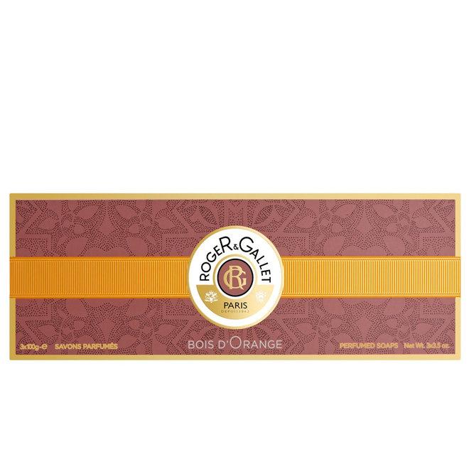 Bois D'Orange Box Of 3 Soaps