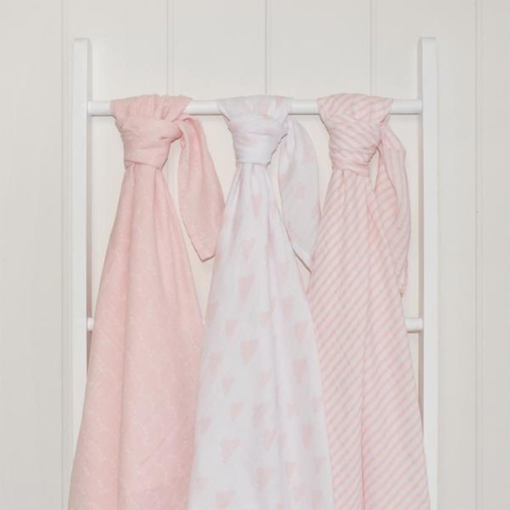 Living Textiles Living Textiles Muslin Wraps 3 Pack