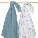 Living Textiles Organic Muslin 2 Pack Wraps