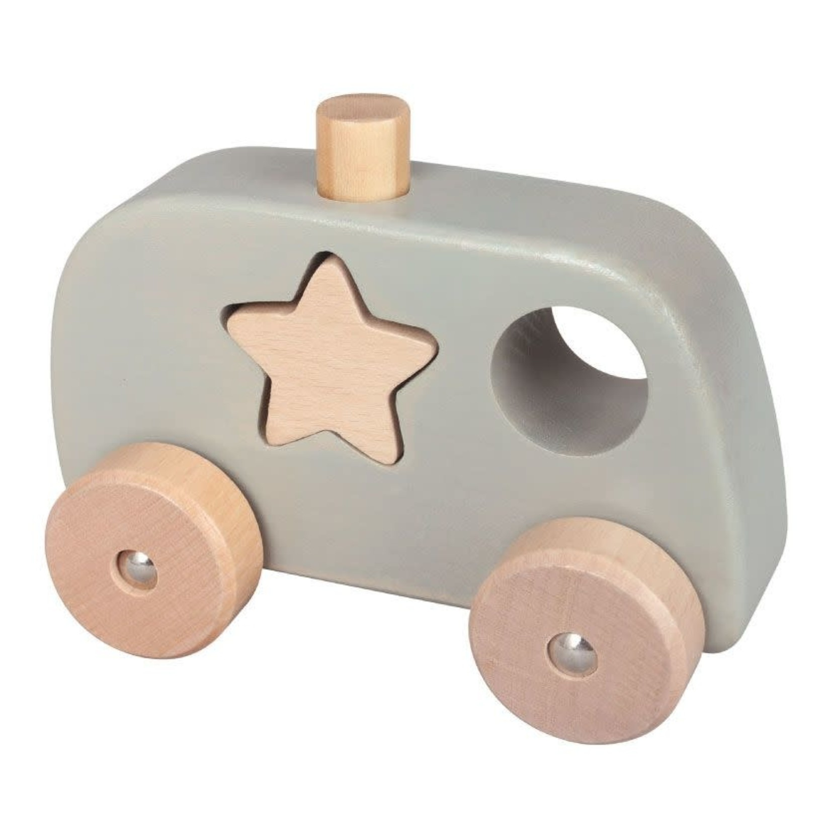 Baby Brands Discoveroo: Chunky Shape Truck Police - Grey