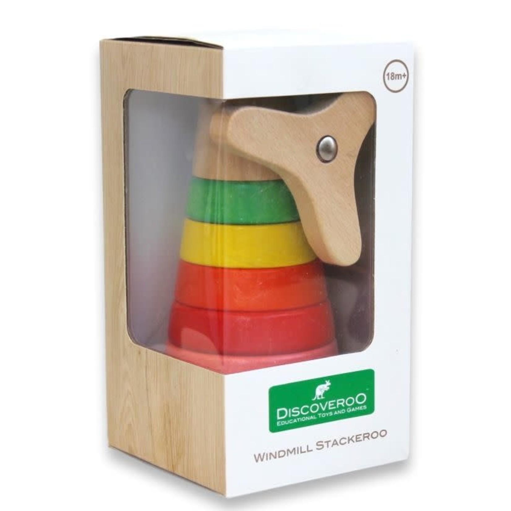 Baby Brands Discoveroo: Windmill Stackeroo