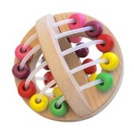 Baby Brands Discoveroo: Wooden Play Ball Beads