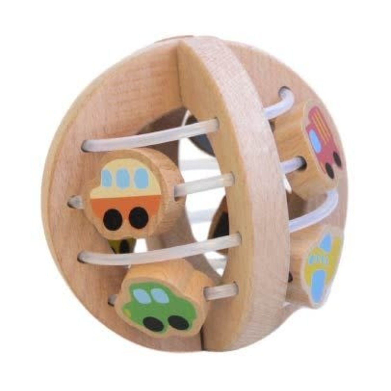 Baby Brands Discoveroo: Wooden Play Ball Traffic