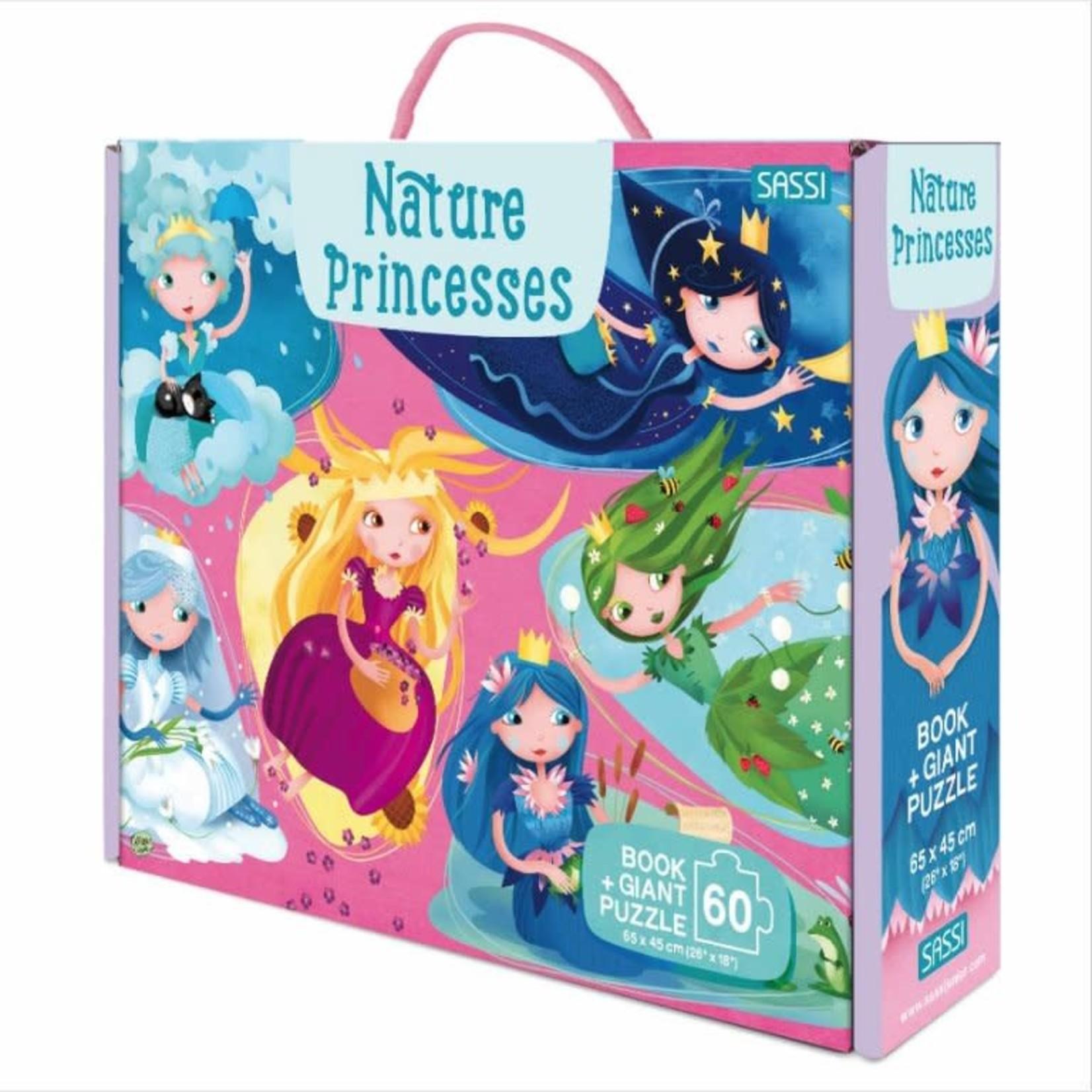 Sassi Sassi Nature Princess Book & Giant Puzzle