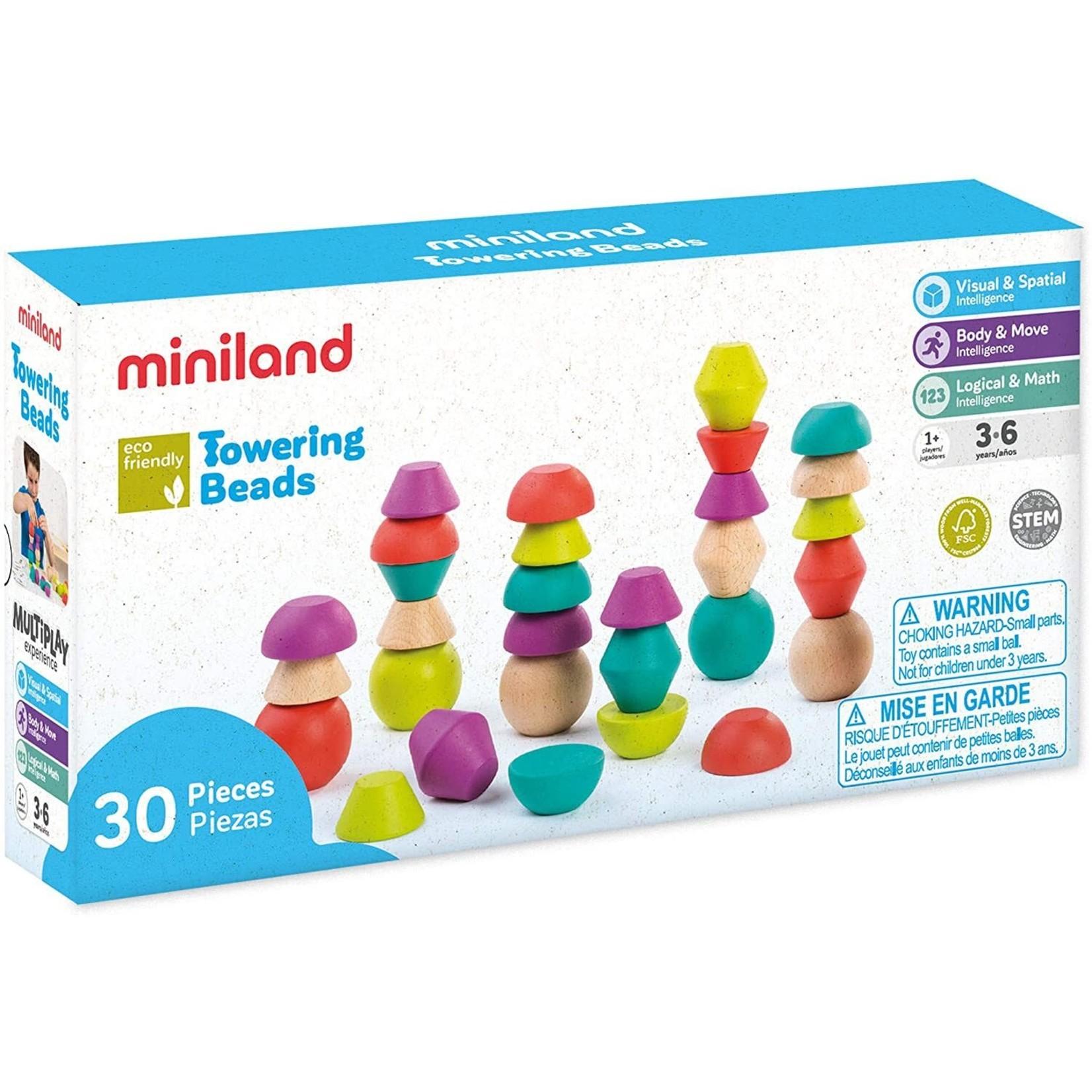 Miniland Miniland Eco Towering Beads