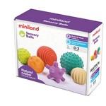 Miniland Miniland Natural Rubber Sensory Balls