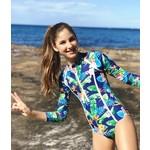 Tribe Tropical Lorikeet Love Teen Swimsuit