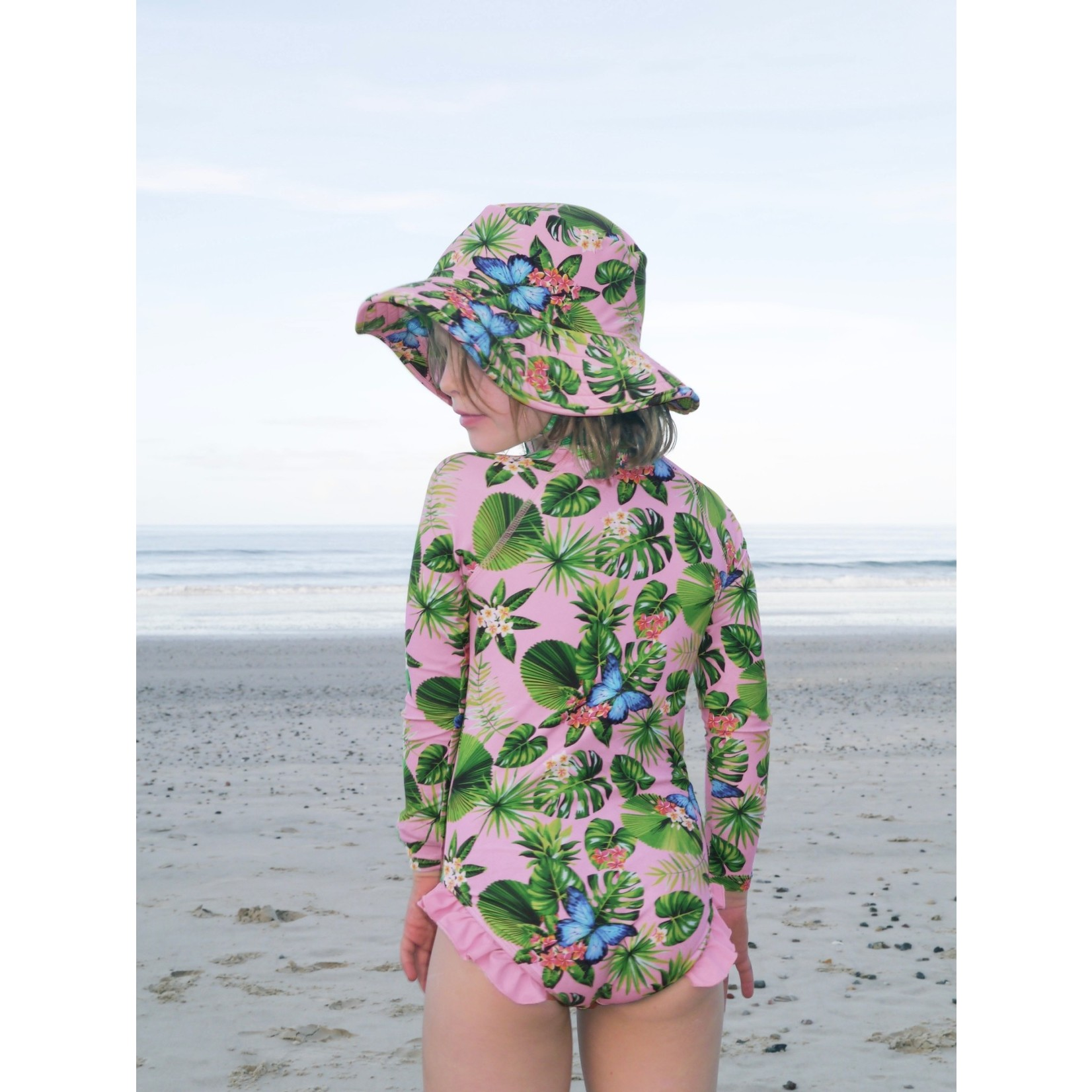 Tribe Tropical Ulysses by the Sea Swimsuit