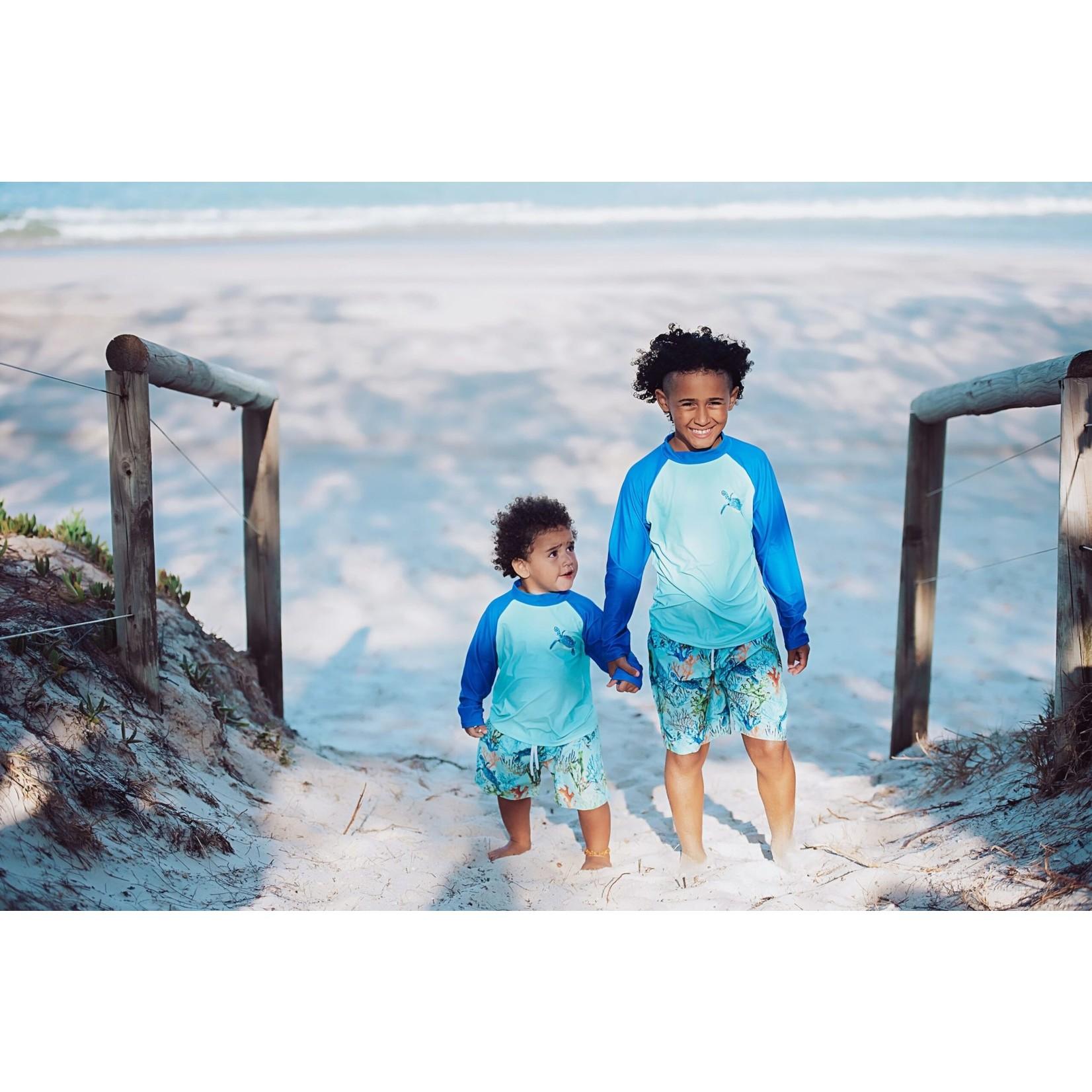Tribe Tropical Elliot Island Board Shorts