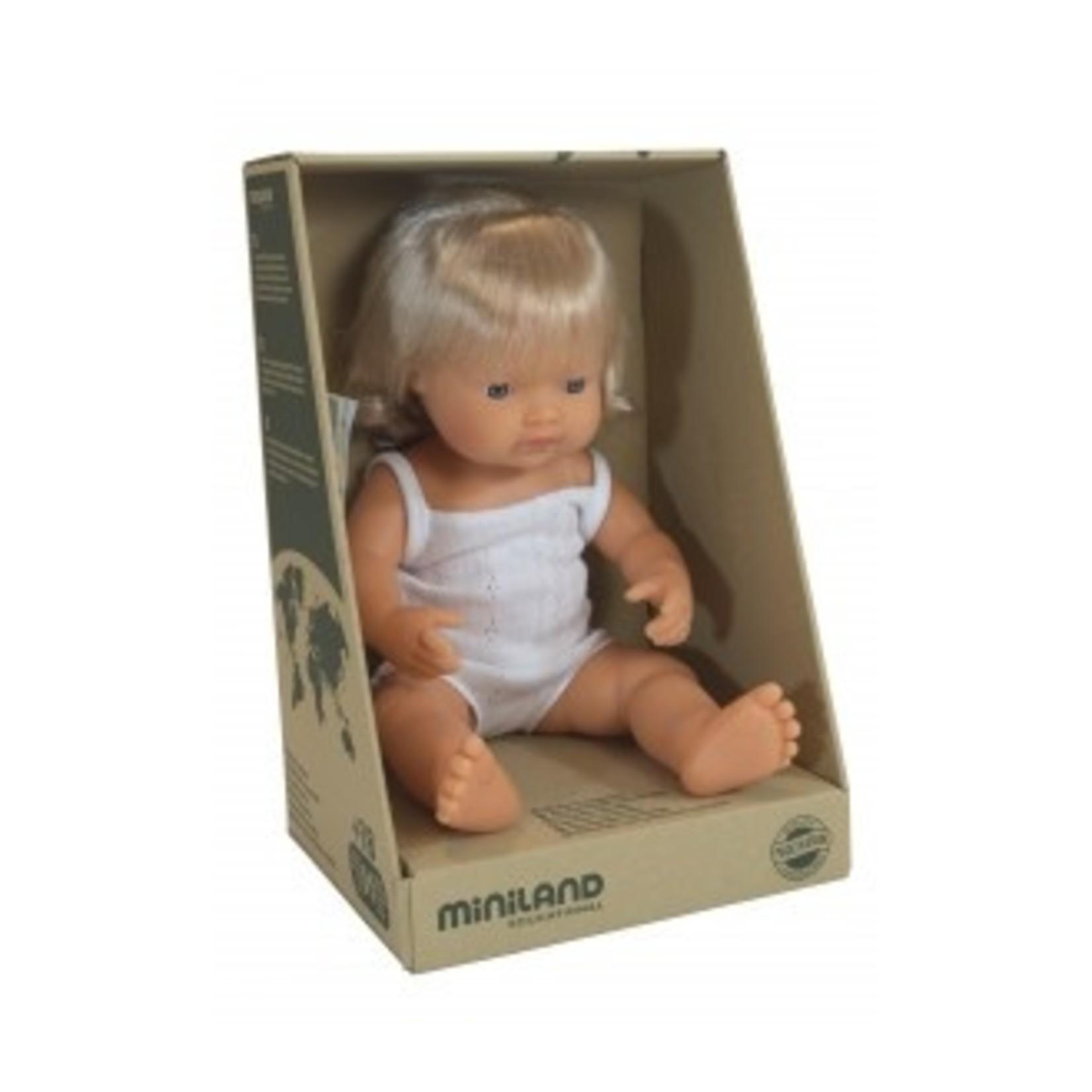 Miniland Miniland 38cm Doll