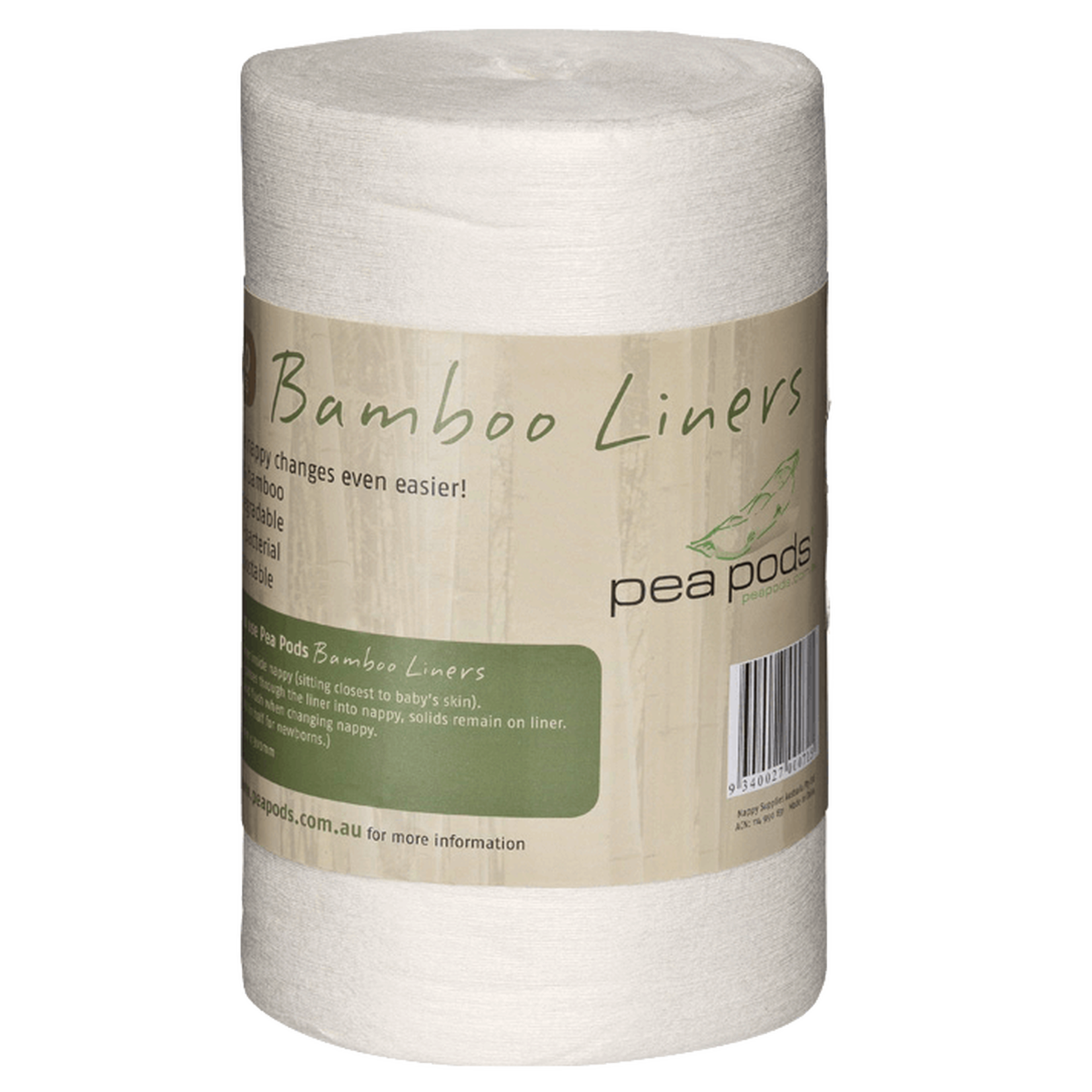 Peapods Peapods Bamboo Liners